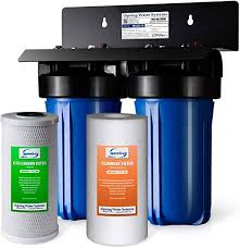 iSpring WGB21B 2-Stage Whole House Water Filter